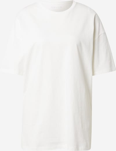 Tricou NU-IN pe alb, Vizualizare produs