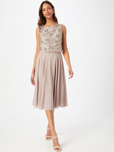 SWING Kleid in beige, Modelansicht