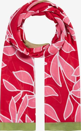 CODELLO Schal in grün / pink / dunkelrot, Produktansicht