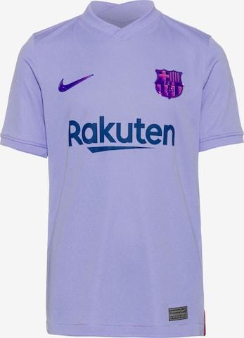 NIKE Performance shirt 'FC Barcelona 2021/22' in Purple