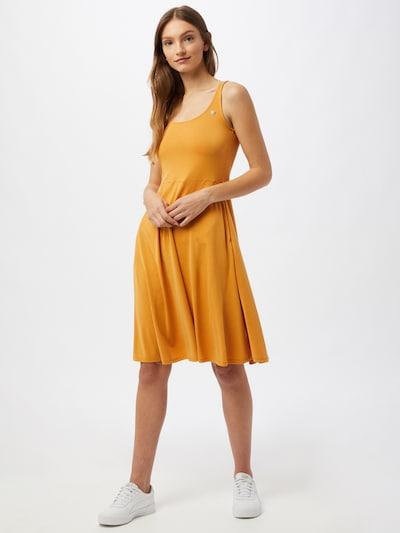 Ragwear Zomerjurk in de kleur Geel, Modelweergave