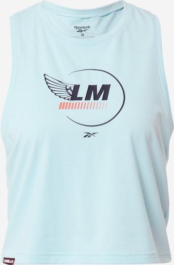 REEBOK Top deportivo 'Les Mills® Cropped' en azul, Vista del producto