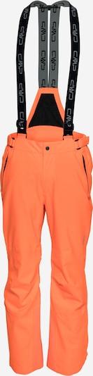 Pantaloni outdoor CMP pe gri bazalt / portocaliu neon / negru, Vizualizare produs