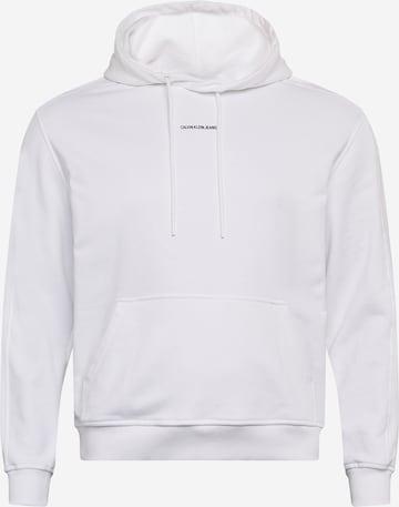 Sweat-shirt Calvin Klein Jeans en blanc