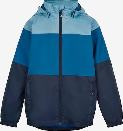 COLOR KIDS Outdoorjacke in hellblau / dunkelblau, Produktansicht