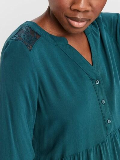 VERO MODA Robe-chemise 'New Debbie' en émeraude, Vue avec produit