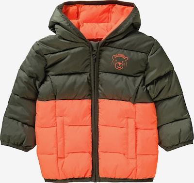 s.Oliver Jacke in khaki / orange, Produktansicht
