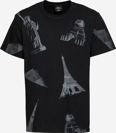 Maglietta 'LANDMARKS' HUF di colore grigio / nero / bianco, Visualizzazione prodotti