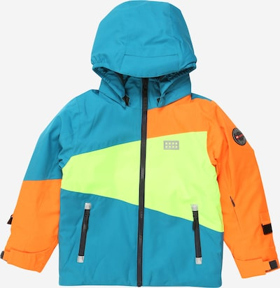 LEGO WEAR Jacke in türkis / gelb / orange, Produktansicht