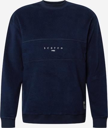 SCOTCH & SODA Sweatshirt in Blau