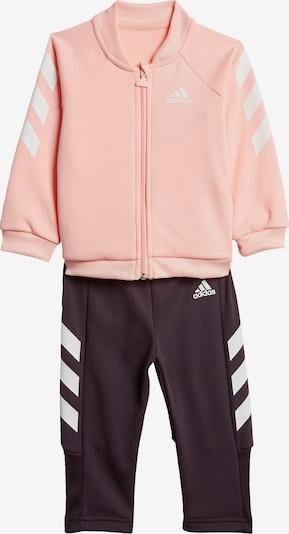 Treniruočių kostiumas iš ADIDAS PERFORMANCE , spalva - uogų spalva / rožių spalva, Prekių apžvalga