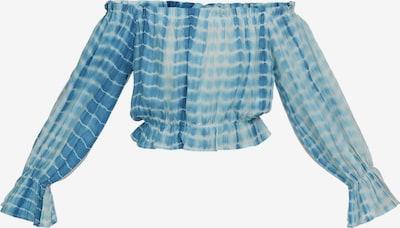 MYMO Shirt in de kleur Hemelsblauw / Lichtblauw / Wit, Productweergave