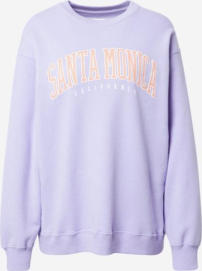 HOLLISTER Sweater majica u lila / narančasta / bijela, Pregled proizvoda