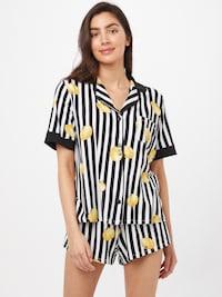 DKNY short pyjamas with lemon print