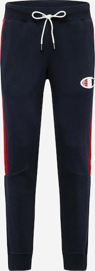 Pantaloni 'Off Court' Champion Authentic Athletic Apparel pe bleumarin / roșu / alb, Vizualizare produs