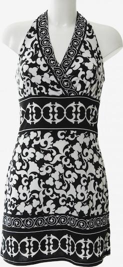White House Black Market Neckholderkleid in S in schwarz / weiß, Produktansicht