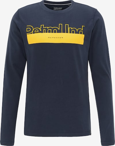 Petrol Industries Shirt in navy / gelb, Produktansicht