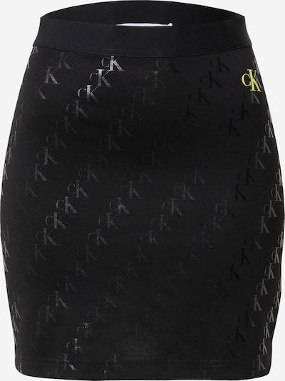 Calvin Klein Jeans Rock 'MILANO' in gelb / schwarz, Produktansicht