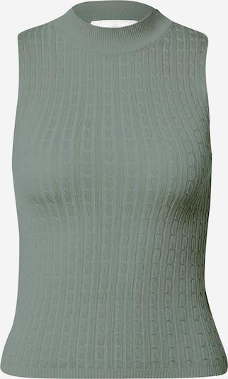 Guido Maria Kretschmer Collection Tops en tricot 'Dunja' en vert, Vue avec produit
