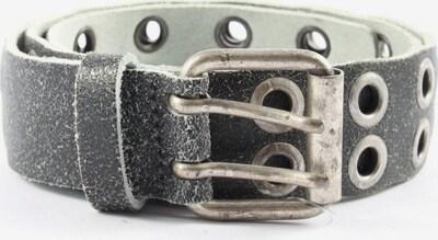 VANZETTI Ledergürtel in XS-XL in hellgrau / silber, Produktansicht