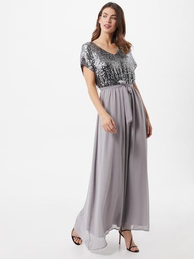 Mela London Společenské šaty - šedá / stříbrná, Model/ka