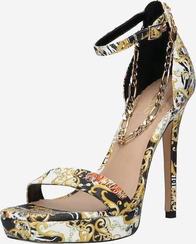 Sandale cu baretă 'SCARLETTCHAIN' ALDO pe mai multe culori / negru, Vizualizare produs