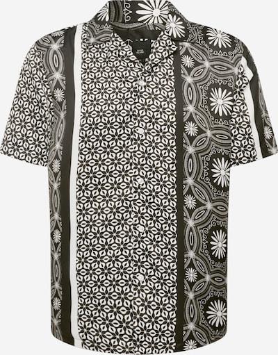 River Island Hemd in schwarz / weiß, Produktansicht