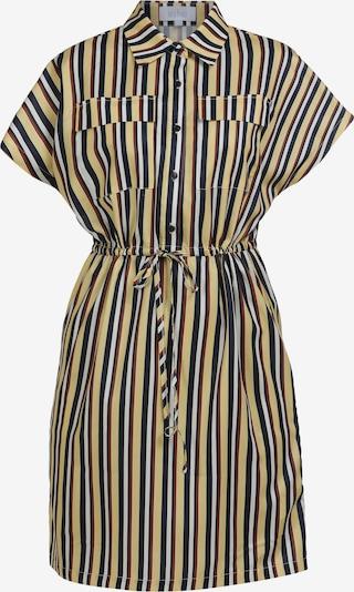 usha BLUE LABEL Hemdblusenkleid in navy / hellgelb / rot / weiß, Produktansicht