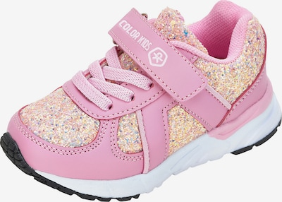 COLOR KIDS Sneakers in gold / rosa, Produktansicht