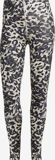 ADIDAS PERFORMANCE Sporthose in beige / grau / hellgrau / schwarz, Produktansicht