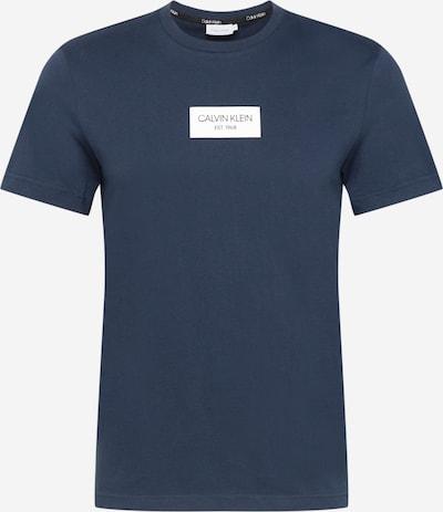 Calvin Klein Shirt in de kleur Duifblauw / Wit, Productweergave