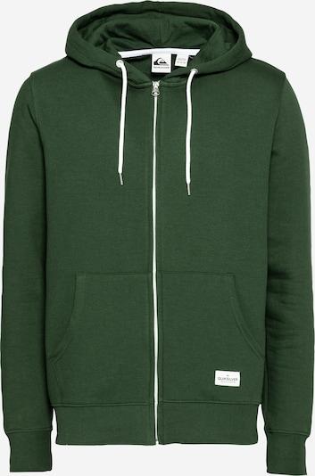 Bluză cu fermoar sport QUIKSILVER pe verde, Vizualizare produs