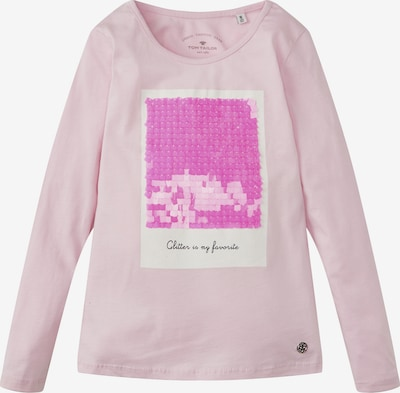 TOM TAILOR T-Shirt en rose: Vue de face