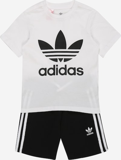 Tuta da jogging ADIDAS ORIGINALS di colore nero / bianco, Visualizzazione prodotti