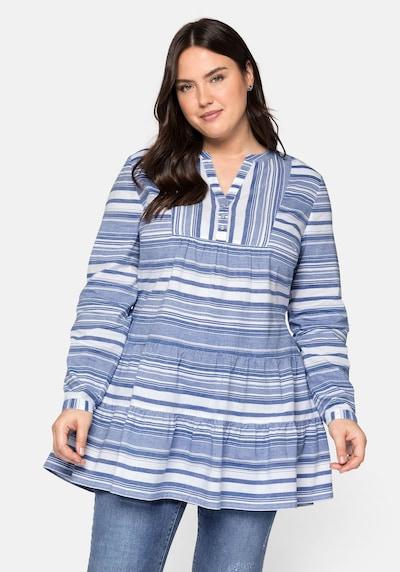 Tunica SHEEGO pe albastru / alb, Vizualizare model