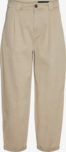 Noisy may Pleat-front trousers 'LOU' in Beige: Frontal view