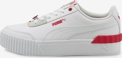 PUMA Sneaker 'Carina' in rot / weiß, Produktansicht