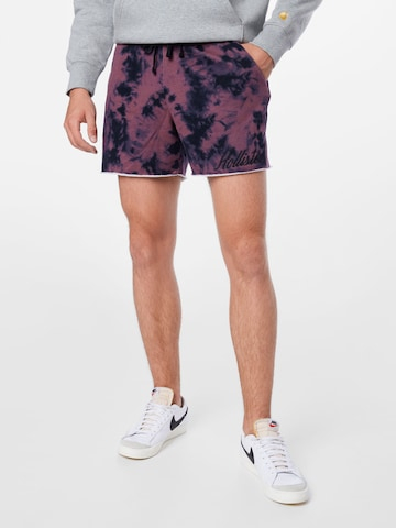 HOLLISTER Shorts in Rot