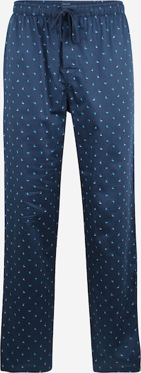 SCHIESSER Pyjamahose in taubenblau / himmelblau / stone, Produktansicht