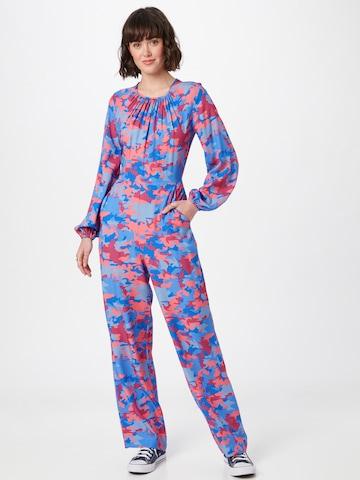 Closet London Jumpsuit - Modrá