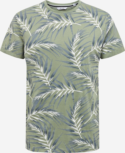 Only & Sons Shirt 'IASON' in nachtblau / taubenblau / hellgrün / weiß, Produktansicht