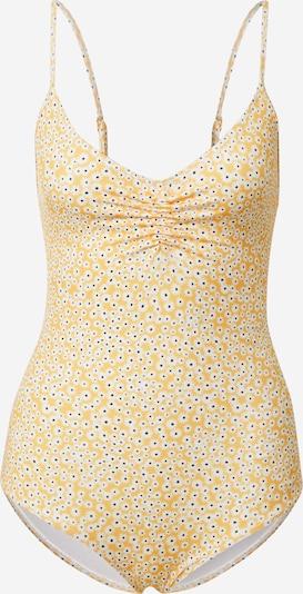 Samsoe Samsoe Badeanzug 'Gytea' in gelb / schwarz / weiß, Produktansicht
