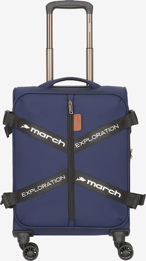 March15 Trading Trolley in blau, Produktansicht