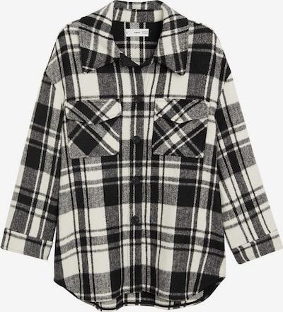 MANGO Jacke in grau / schwarz / weiß, Produktansicht