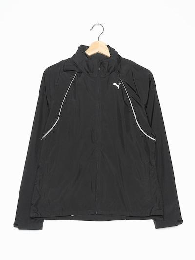 PUMA Sportjacke in M-L in schwarz, Produktansicht