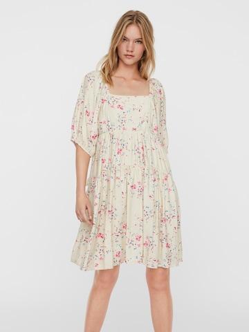 VERO MODA Dress 'MILA' in Beige
