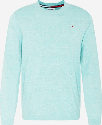 Tommy Jeans Pullover in türkis, Produktansicht