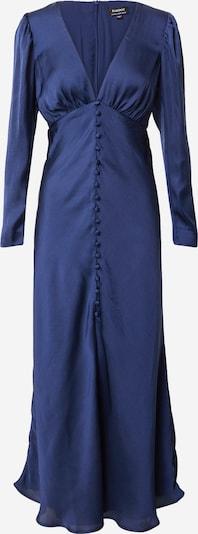 Bardot Robe de soirée 'RYLEE' en bleu marine: Vue de face