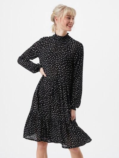 Kaffe Kleid 'Billie' in schwarz / weiß, Modelansicht