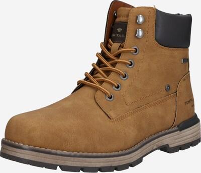 Auliniai batai iš TOM TAILOR , spalva - šviesiai ruda / juoda, Prekių apžvalga